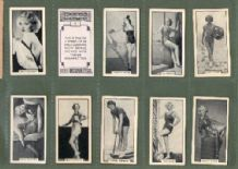 Cigarette cards Modern Beauties 1938  pin-up showgirls, dancers,